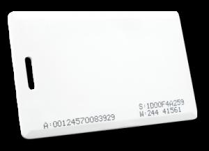 Cartão de Proximidade ClamShell 125 KHz