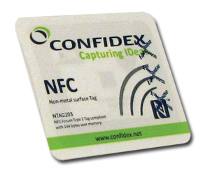 Tag Mifare Sticker MDM NFC White